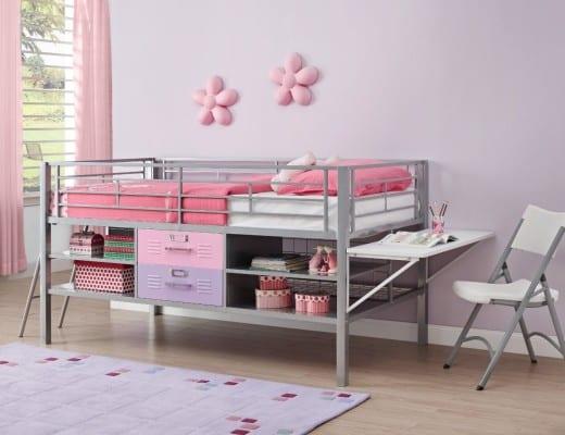 loft beds for kids with desk