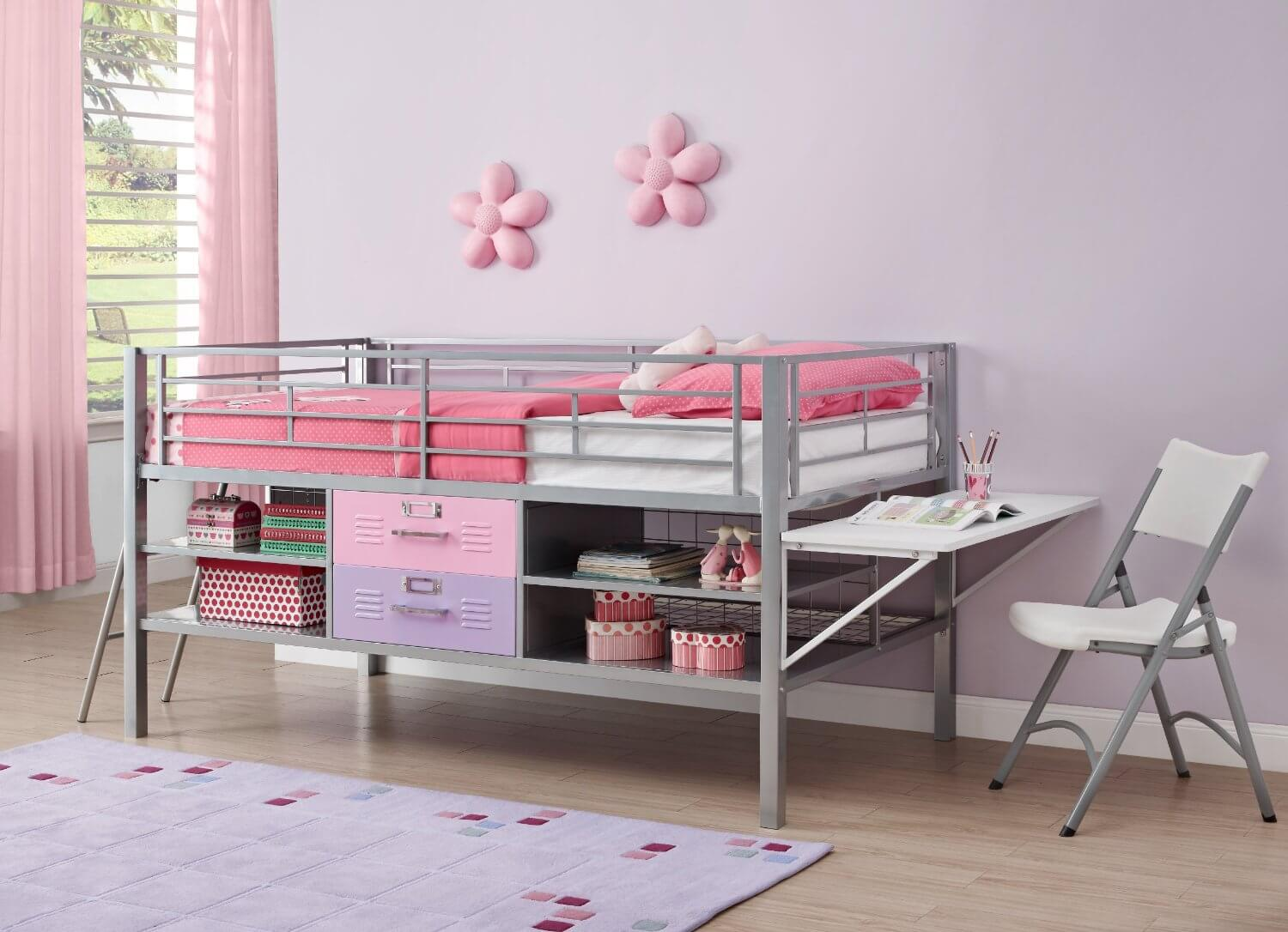 Loft Beds For Kids With Desk For A Price You Can Afford