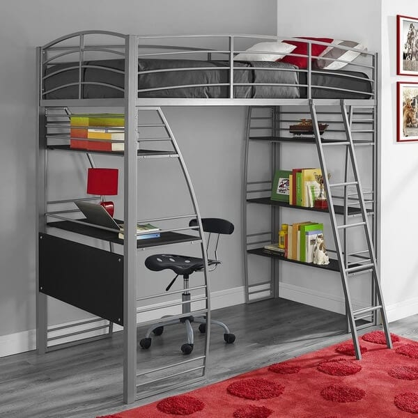 10 loft beds for kids that won 39 t break the bank Kids loft bed with desk