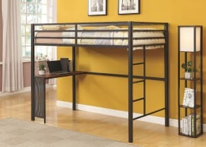 twin loft beds for kids