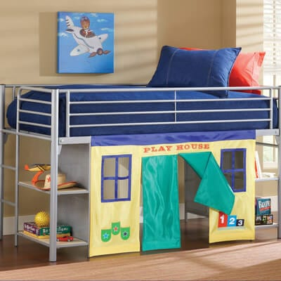 junior playhouse loft bed