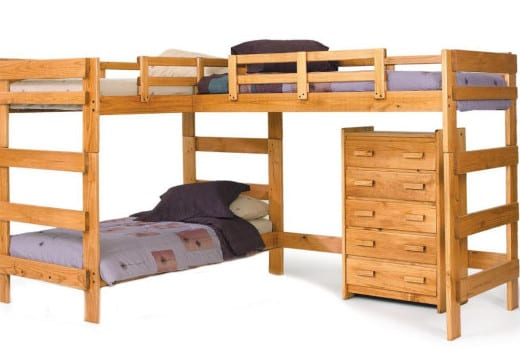 Cargo Bunk Bed Assembly