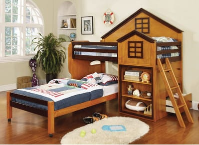 toddler treehouse loft bed