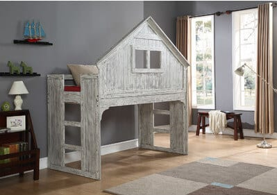 treehouse playground loft bed