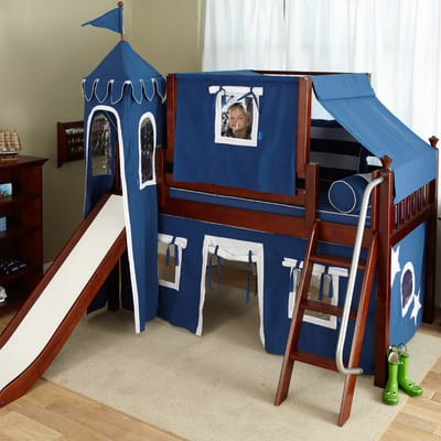 boys castle loft bed