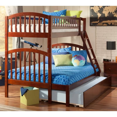 twin over full triple trundle bed