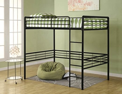 Dorel Home Products Full Loft Bed, Black 1