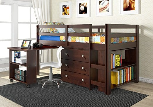 loft beds with storage