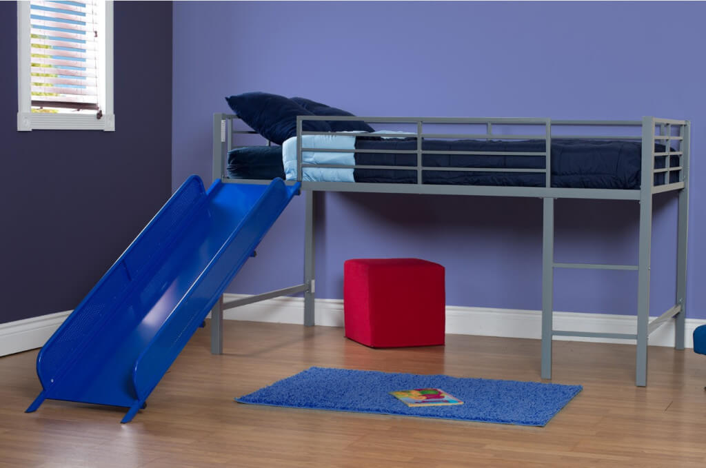 The Enjoyable Full Size Loft Bed With Slide
