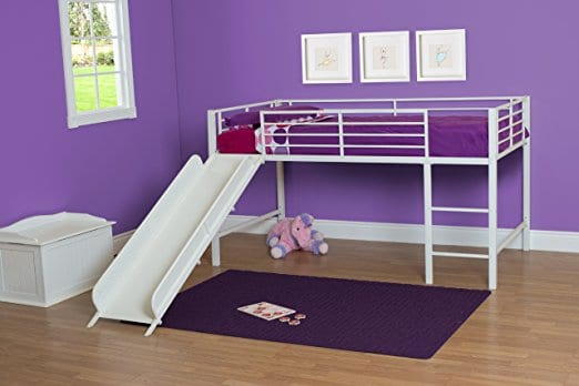 DHP Junior Loft Bed with Slide