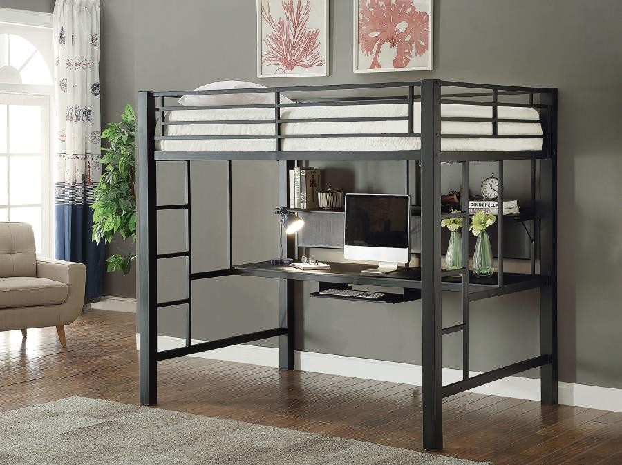 Best Black Metal Loft Bed 2019