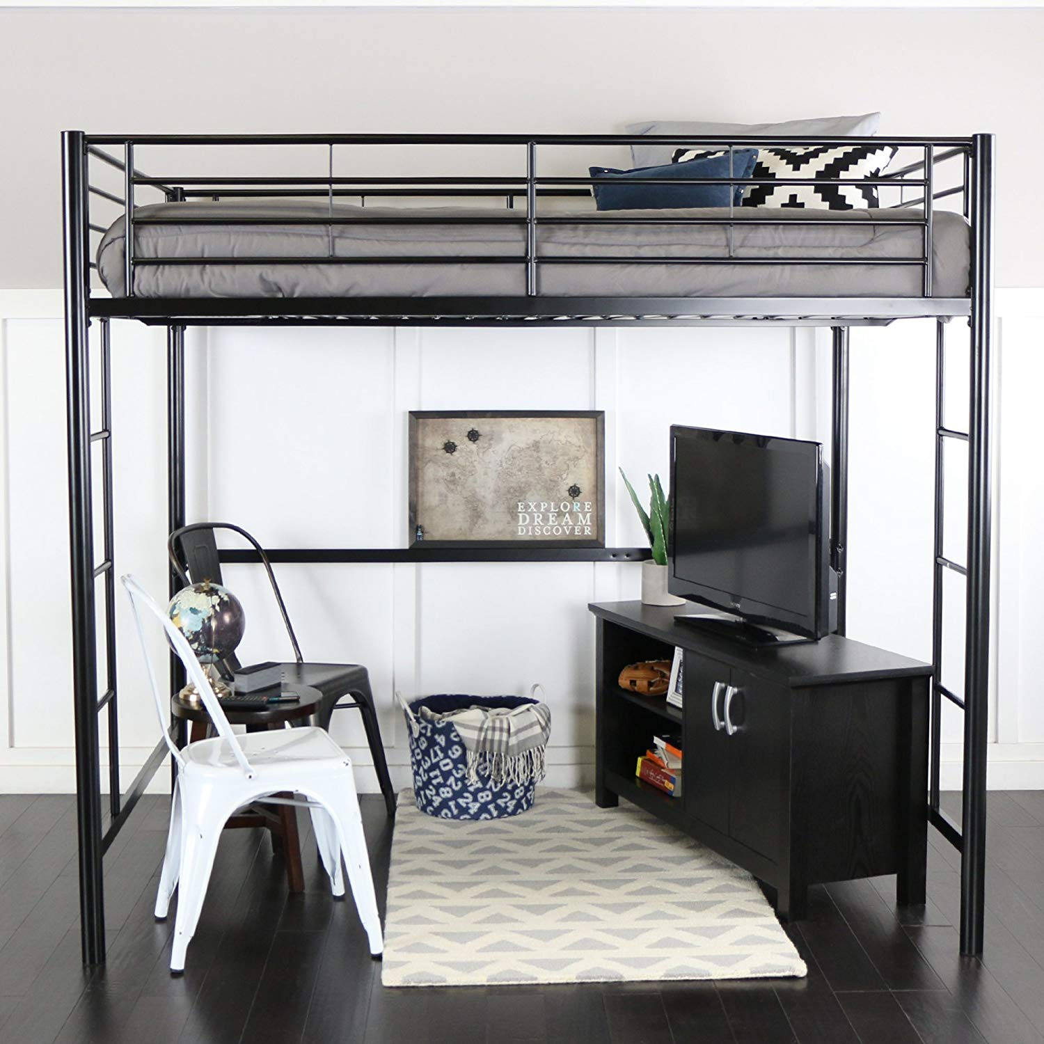 Top Metal Loft Bed 2019